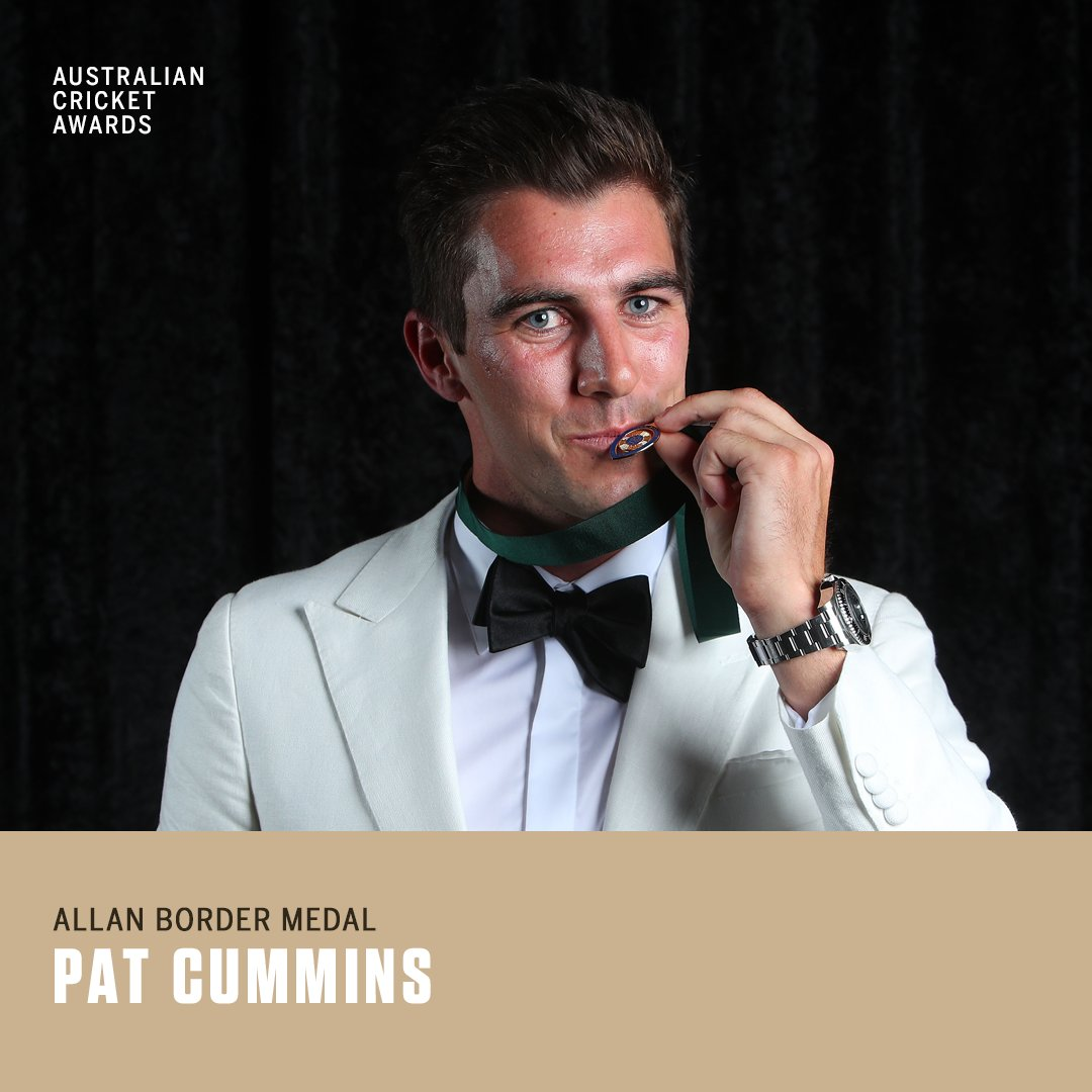 ESPNcricinfo's photo on allan border medal