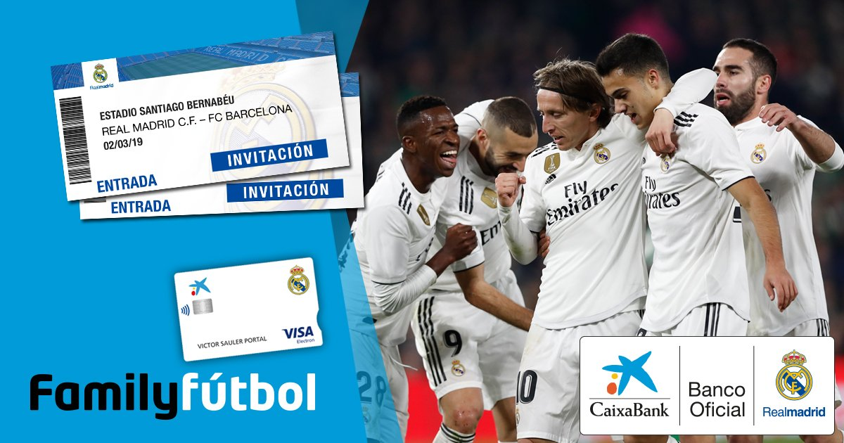 Real Madrid C F On Twitter Gana Una Entrada
