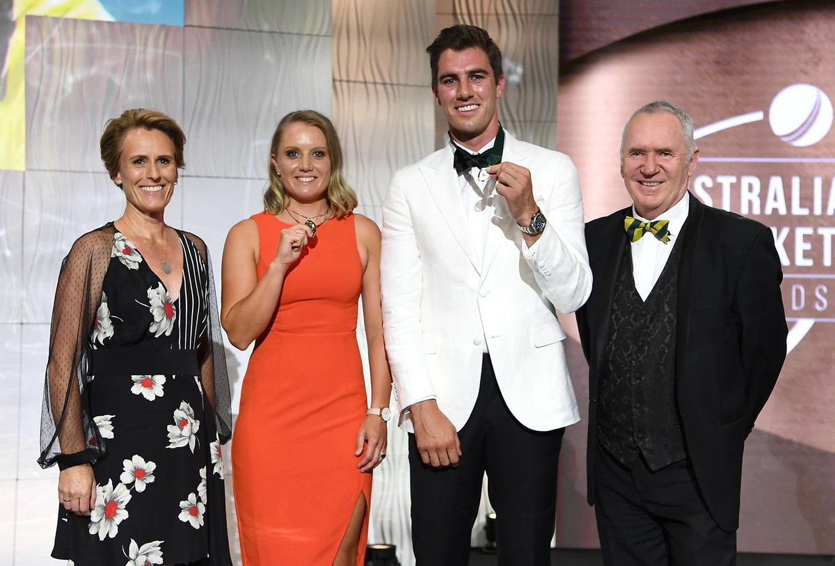 Cricket Australia's photo on belinda clark award