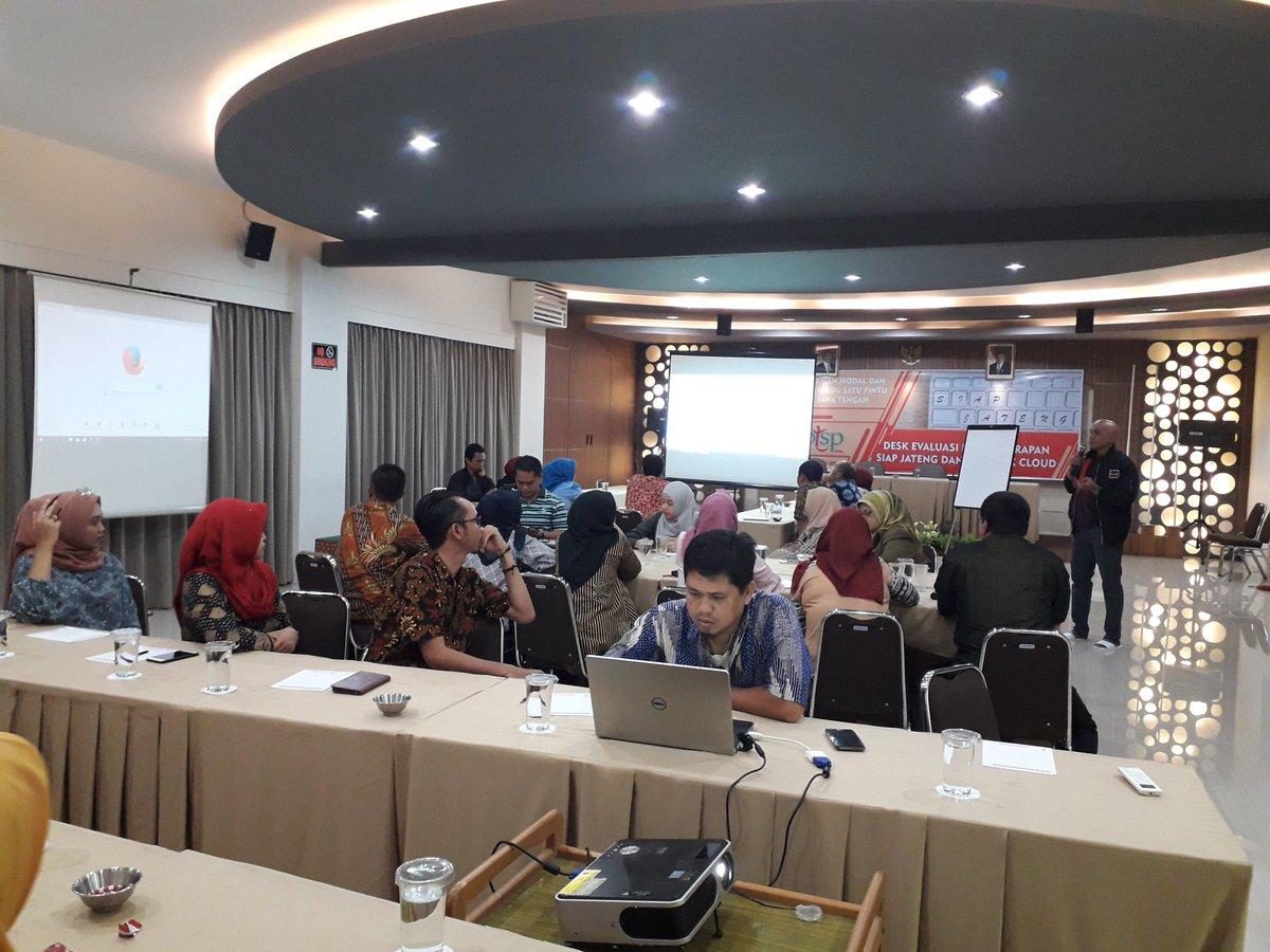 [Late Post] Desk Evaluasi dan Penerapan SIAP Jateng dan Si Cantik Cloud pada hari Jumat dan Sabtu, 8-9 Februari 2019 di Hotel Nugraha Wisata Bandungan Kab. Semarang.
