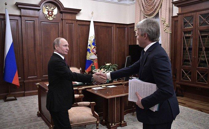 В Кремле Фото