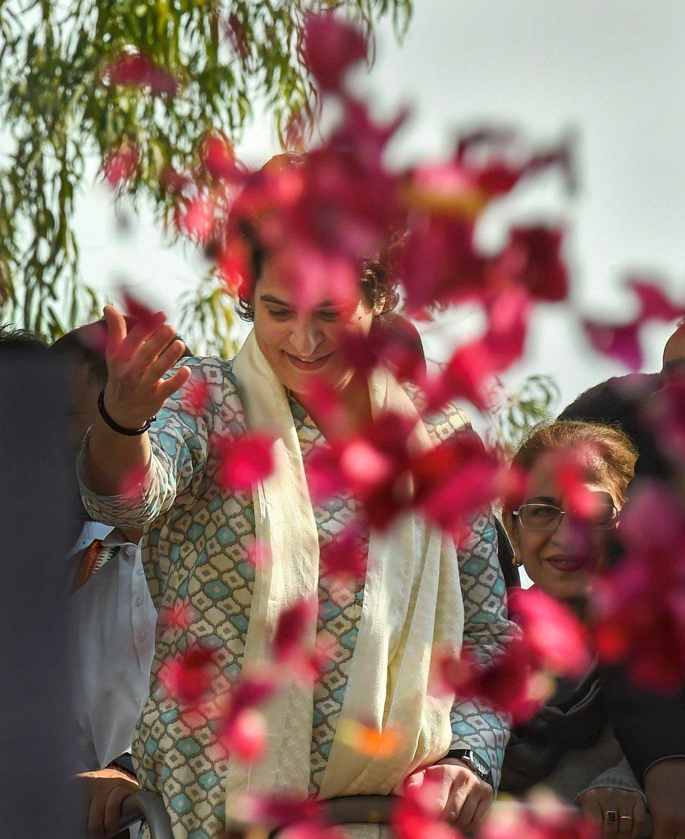 ABP News's photo on #PriyankaGandhi