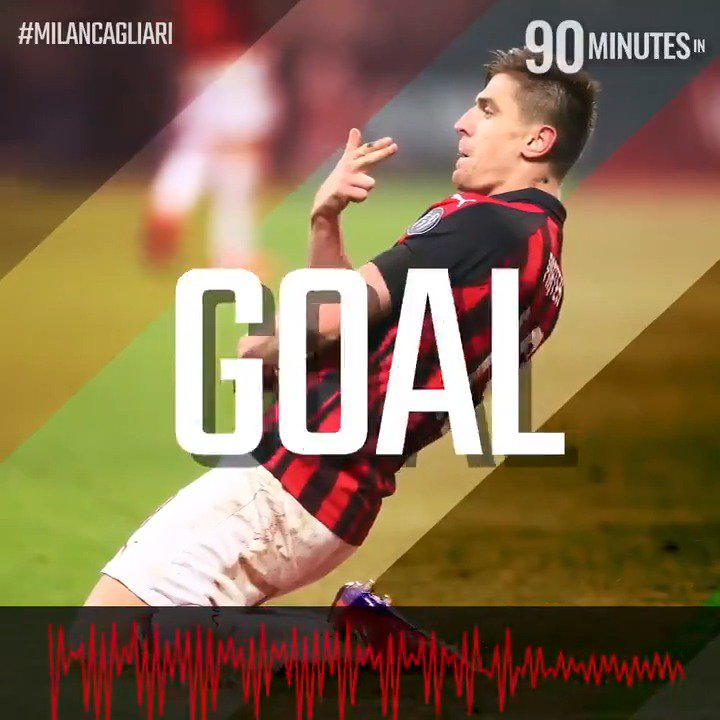 AC Milan's photo on #milancagliari