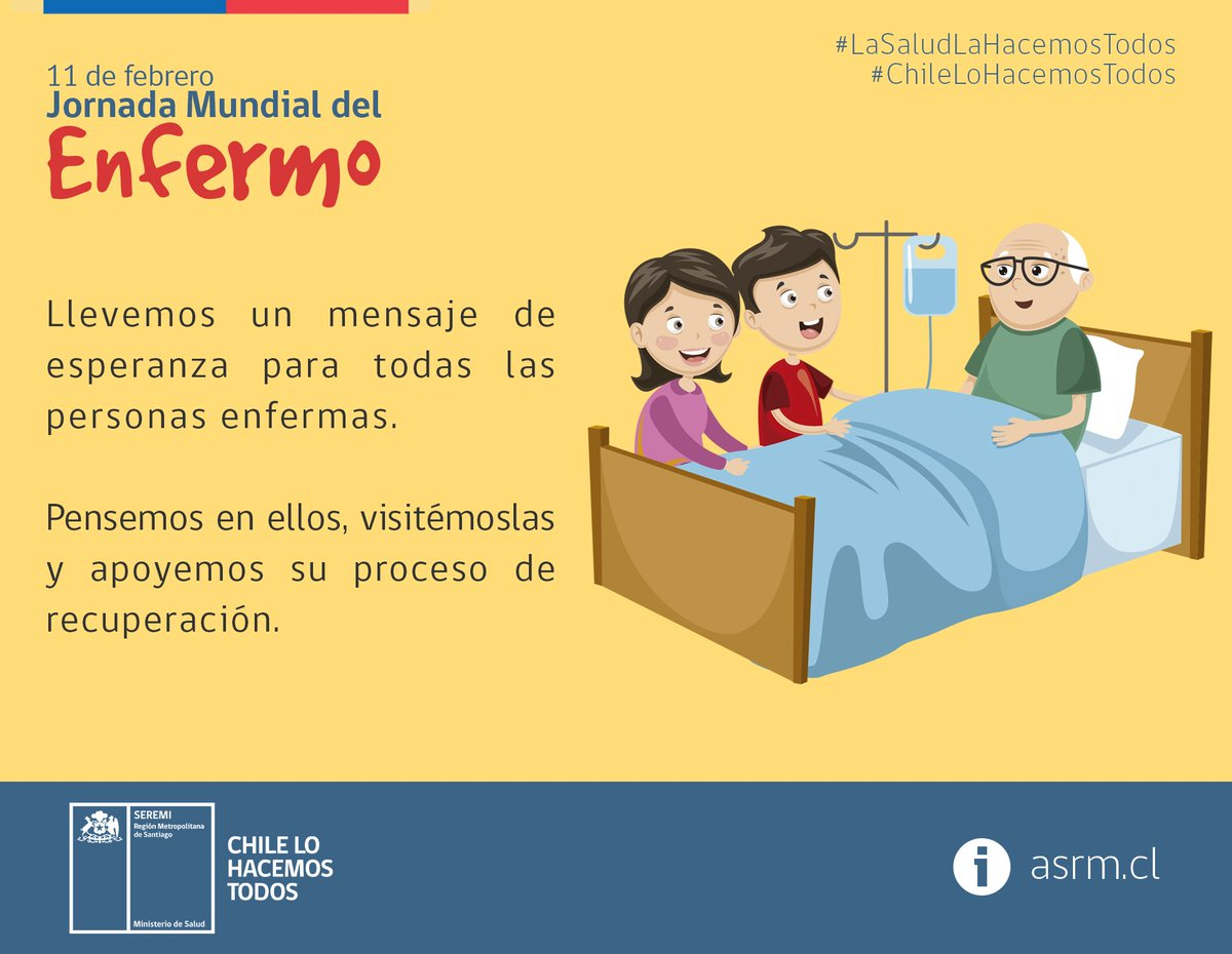 Seremi de Salud RM's photo on #JornadaMundialDelEnfermo