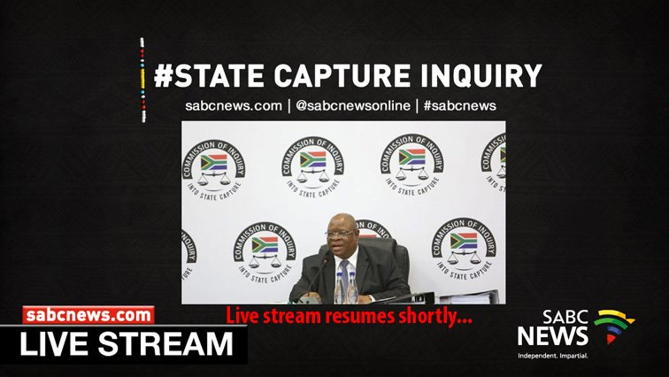 [LIVE STREAM] State Capture Inquiry, 11 February 2019 | WATCH: https://t.co/vCYaVA9uRz #StateCapture