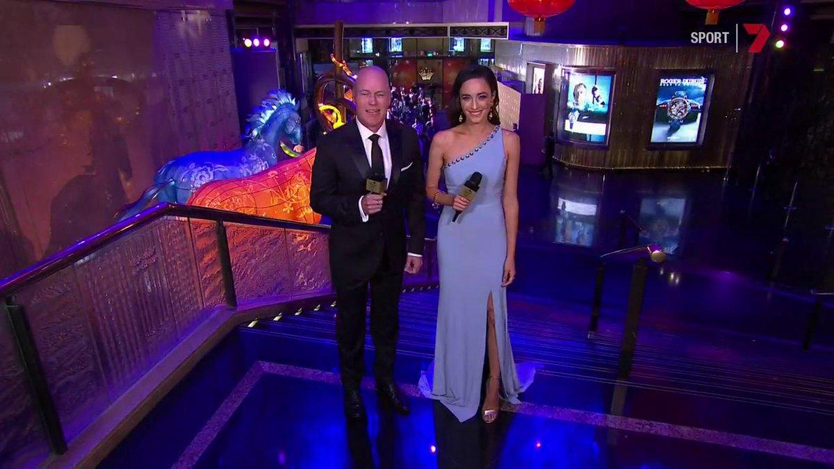 Channel 7's photo on Australian Cricket Awards