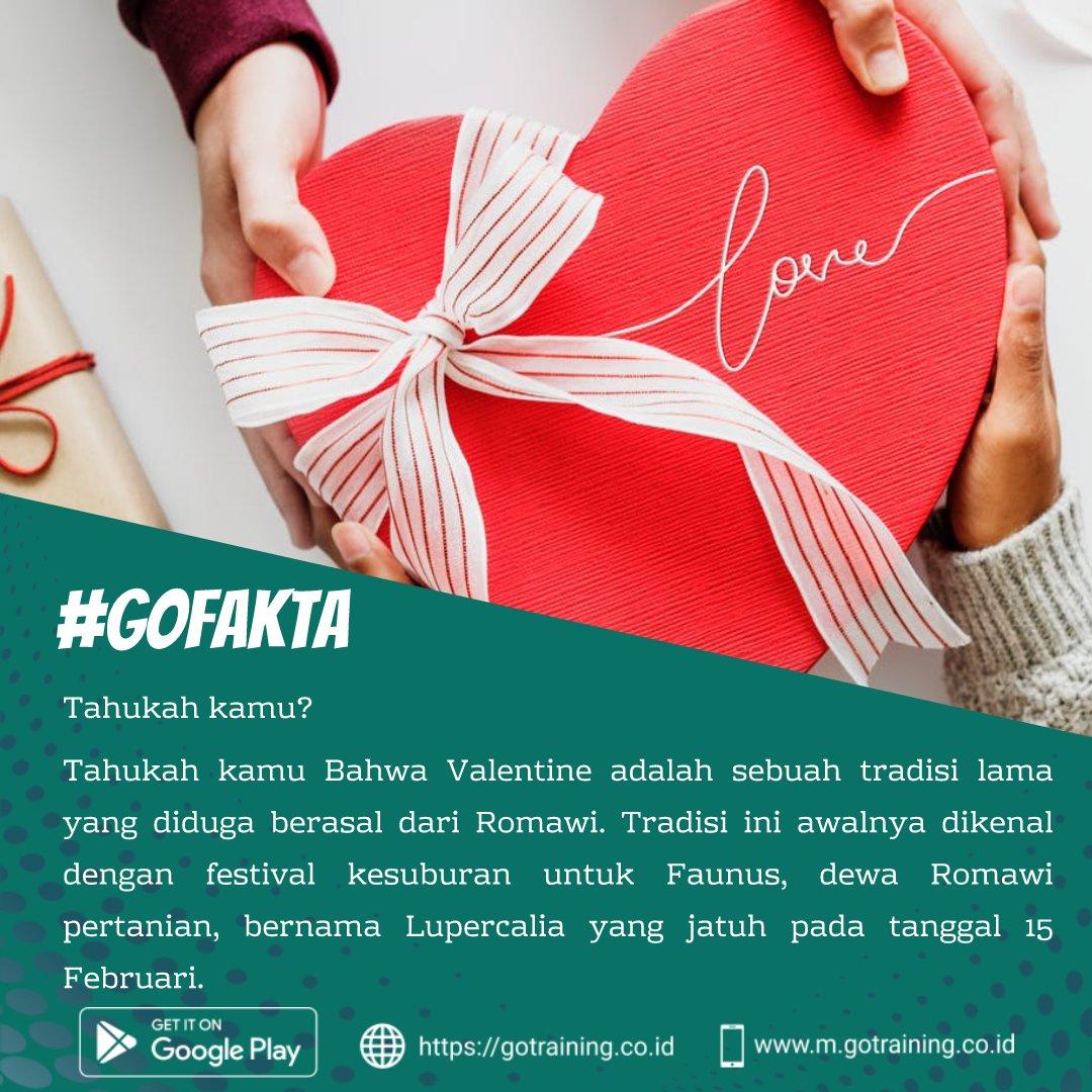 Valentine sebentar lagi menjelang. Tahukah kamu terdapat beberapa fakta unik mengenai hari kasih sayang ini. Salah satunya adalah yang satu ini.. Temukan info menarik lainnya di @Gotraining_coid dan https://gotraining.co.id/   #Senin #ValetinesDay #HappyValentinesDay #Fakta #Facts