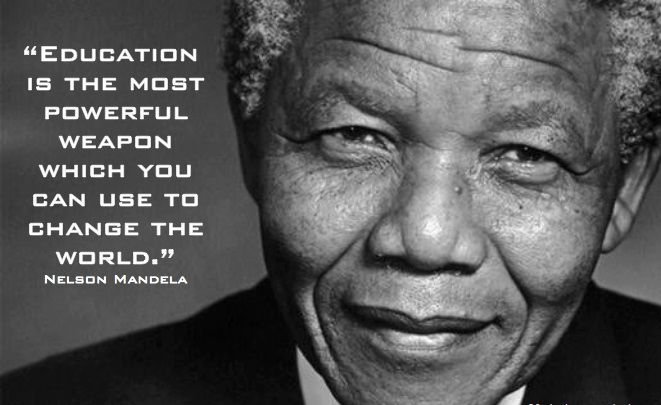 Allana's photo on Nelson Mandela