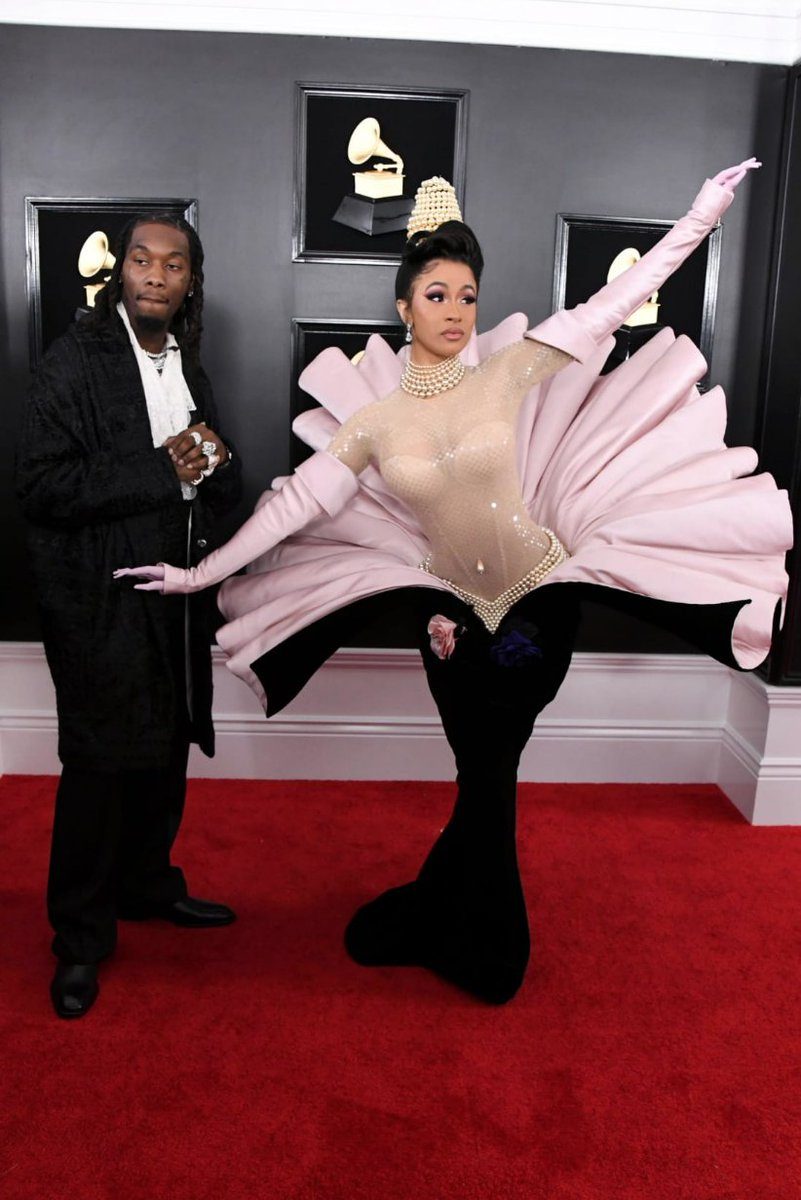 From BTS to Cardi B, take a look at the boldest red carpet fashion from this year's Grammy Awards  https://t.co/GyVYr7Okbt