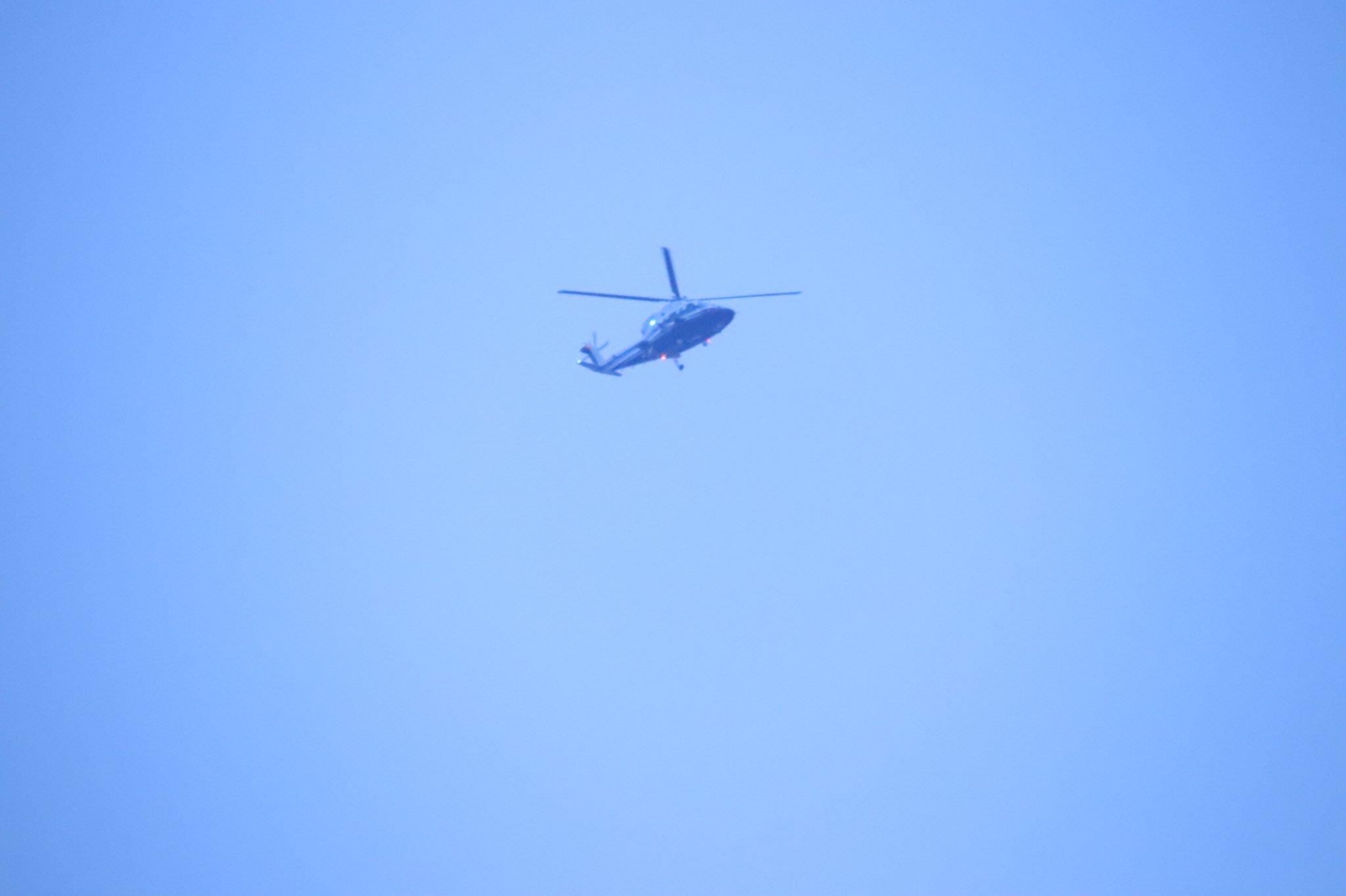 画像,ずーーーーーーーっと上空をヘリが旋回してたので撮ったけど…外環で事故だったのね😓 https://t.co/XhINoLRaLR…