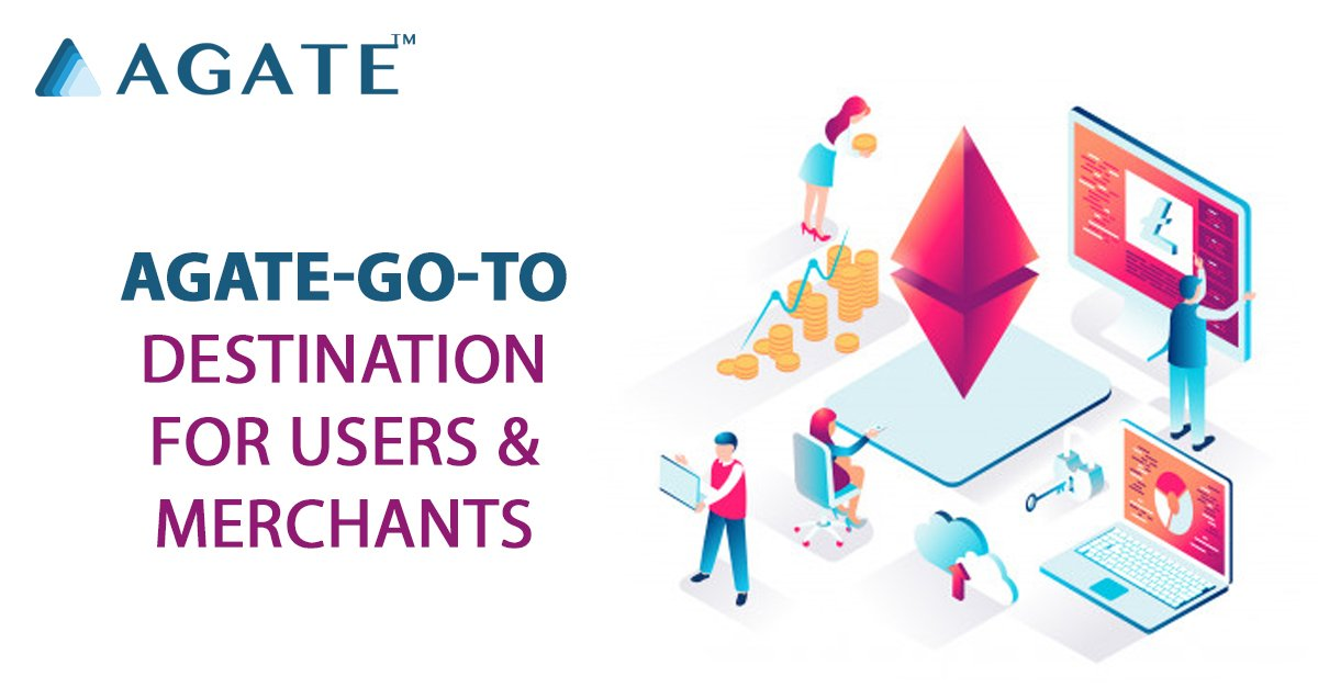 Agate with its new and one-of-its-kind ecosystem is the future of the next generation crypto based trading. Find out more: agatechain.org