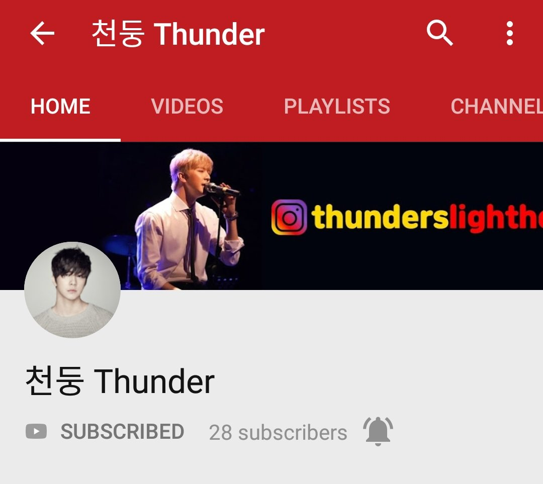 Everyone subscribe to Thunder's youtube channel 🙏 Let's support our 막둥이❤️ 🔗 https://www.youtube.com/channel/UCe4V03sAUeoE9RUurWix6nA …