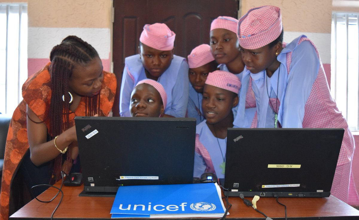 UNICEF Nigeria's photo on #GirlsinScience