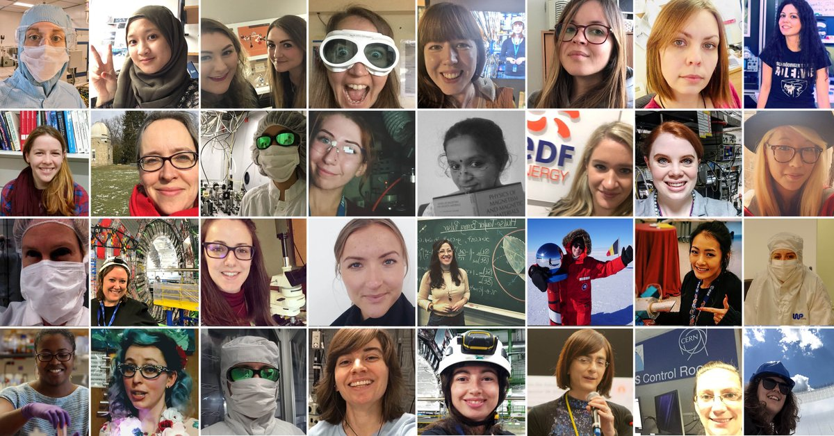 Happy International Day of Women and Girls in Science! We're celebrating all day by sharing your #iamaphysicist selfies, so continue to tweet us telling us what you do in physics! #WomenInScience #WomeninSTEM #WomeninScienceDay  #WomeninPhysics