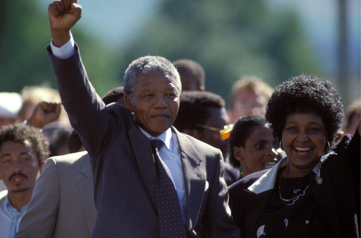Mail & Guardian's photo on Nelson Mandela