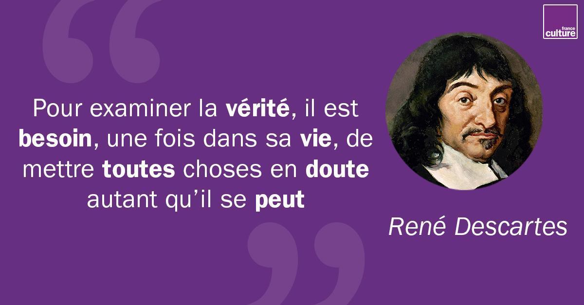 France Culture's photo on René Descartes