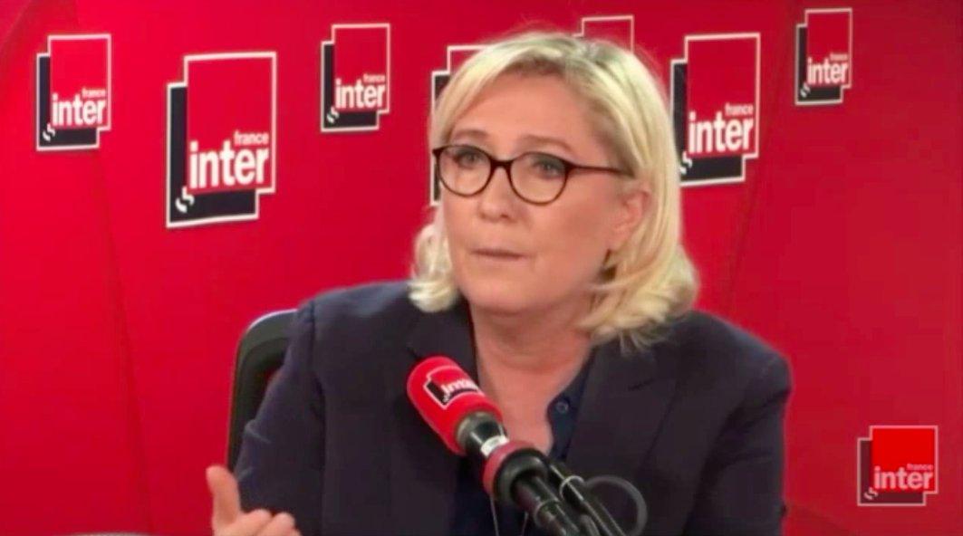 Marine Le Pen's photo on Un Français