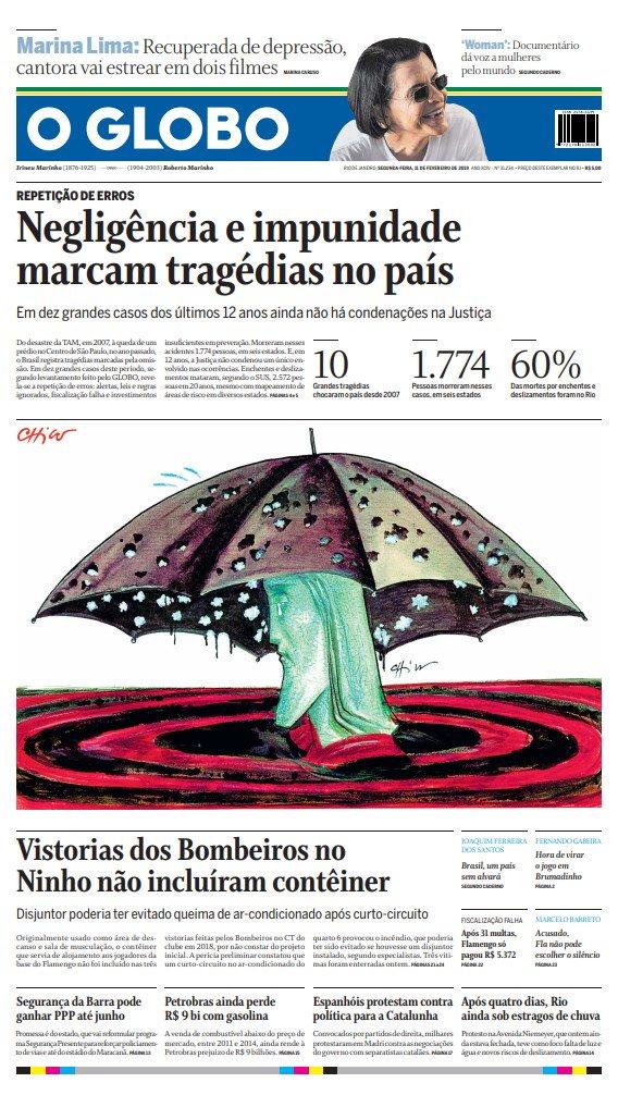 Jornal O Globo's photo on 11 DE FEVEREIRO