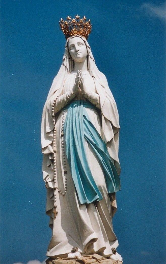 charo's photo on Virgen de Lourdes
