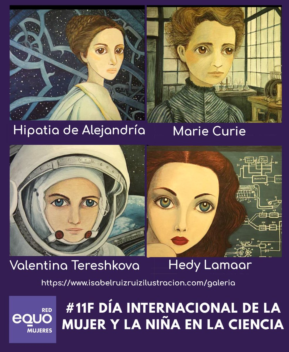 Red EQUO Mujeres's photo on #DíaMujerYNiñaEnCiencia
