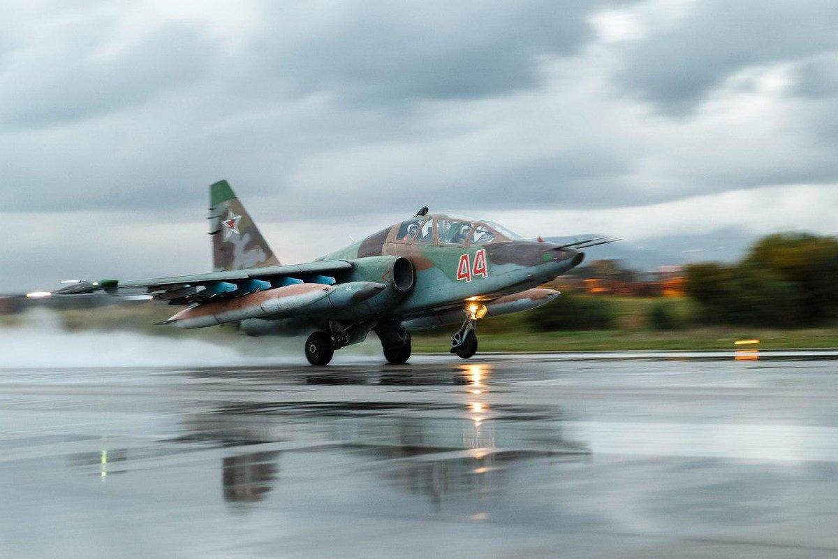 #RuAF Su-25 at #Hmeimim, #Syria
