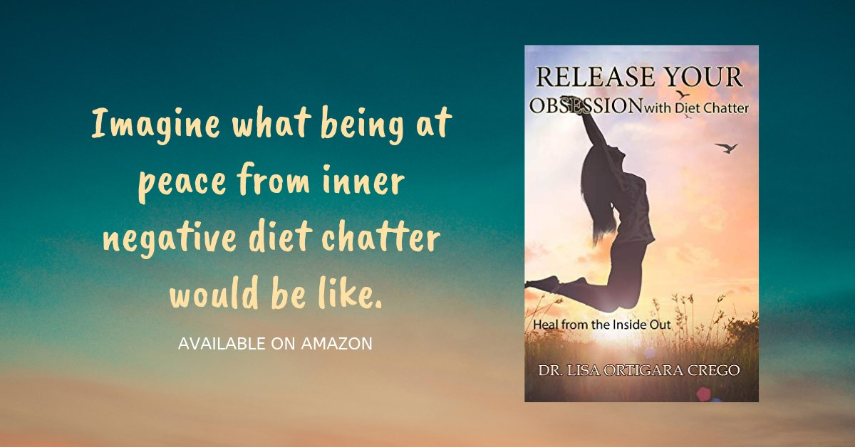 It's time to cease the diet chatter and increase the love chatter. Let go of negative internal monkey talk once and for all.  Let me show you the way to inner mind peace. #Psychology #Selfhelp http://mybook.to/ReleaseYourObsession… @drlisaort