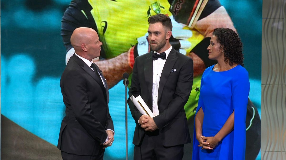 Fox Cricket's photo on allan border medal