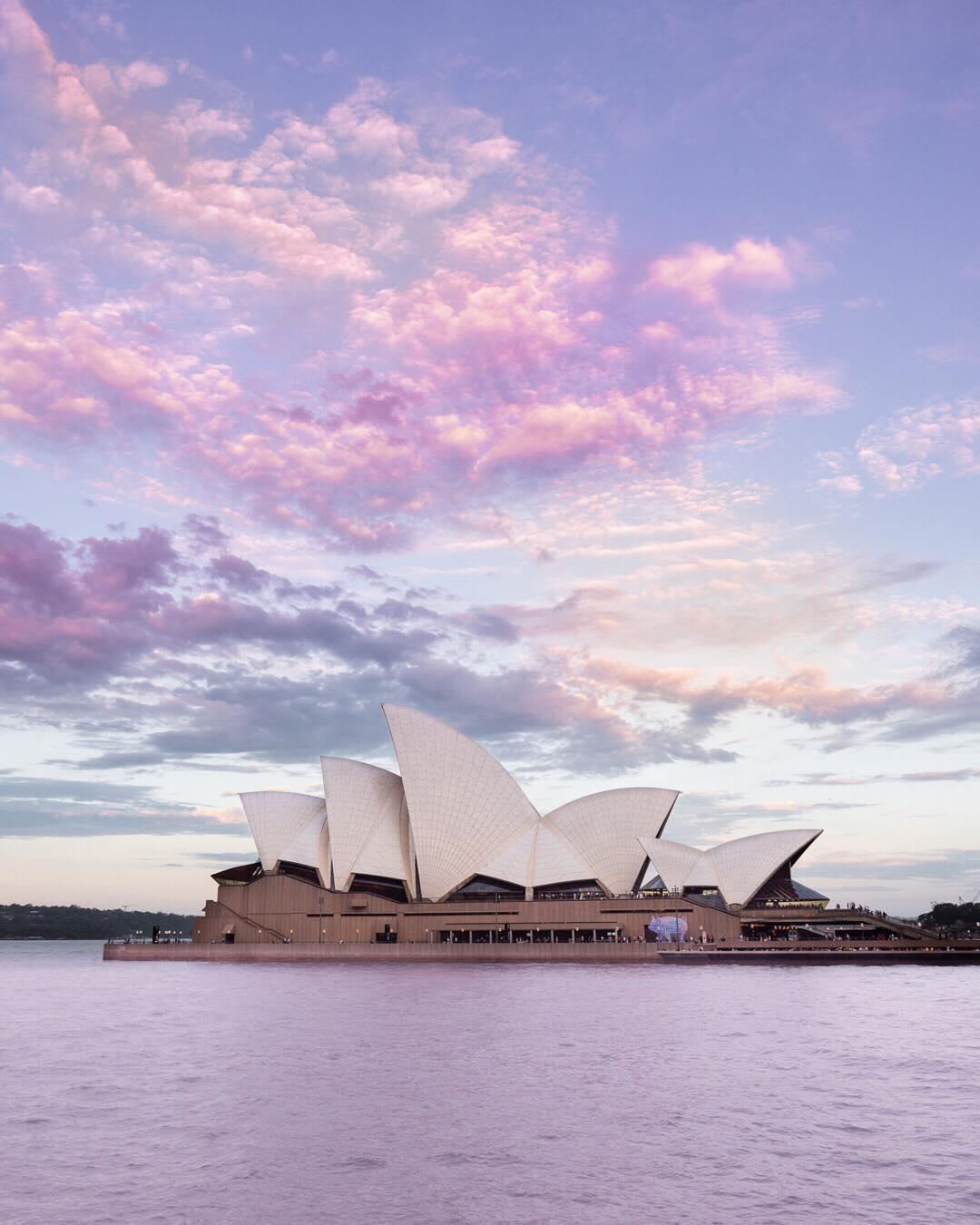 Travel Australia: Contrary to popular belief, Sydney doesn't only suit blue skies, it also looks just a...