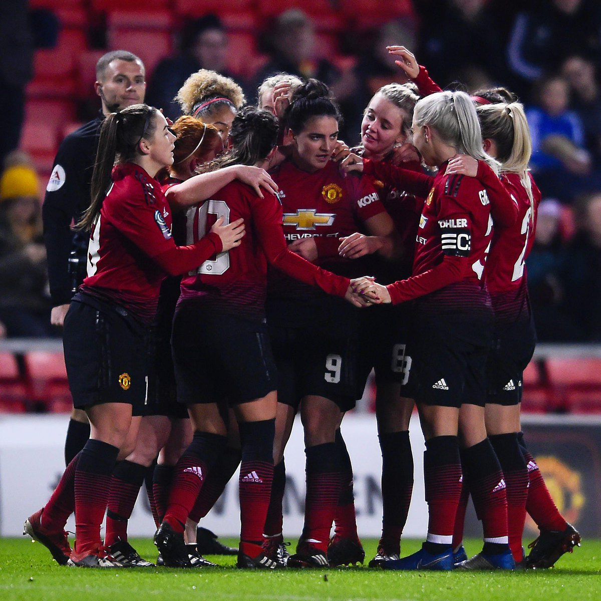 Manchester United Women's photo on Leicester