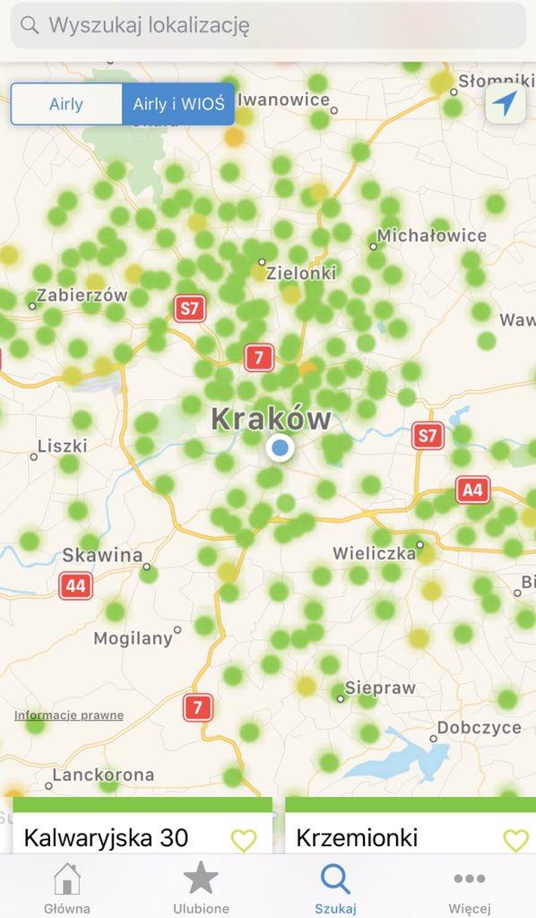 Krakow O2 On Twitter Dzien Dobry W Poniedzialek Powietrze