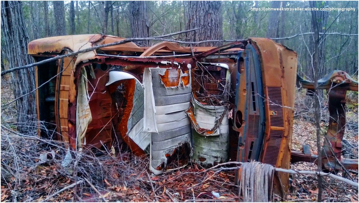 John Weeks Photography on Twitter: My Photography -  'Seen Better Days' - Eden, NSW, Australia . . .  #carwreck #rust #dumped #outback #photography #mywork #myphoto #photo #foto #image…
