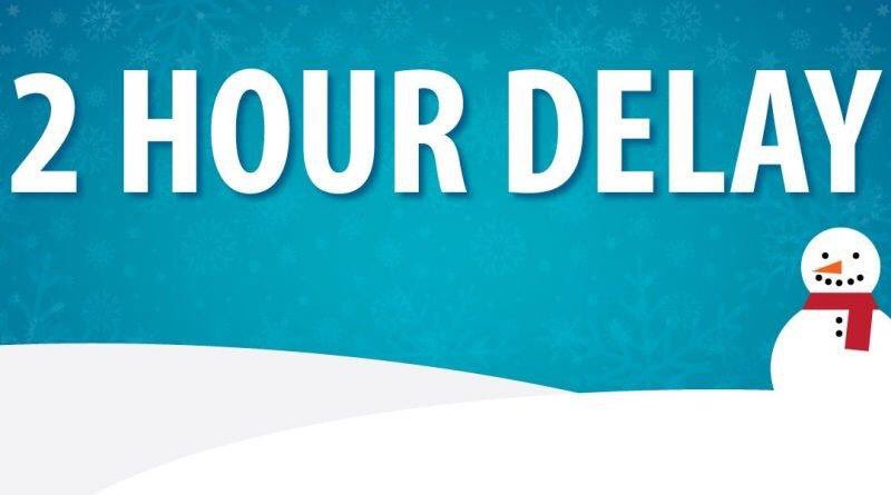 All BCSSSD Schools and Campuses will have a 2 hour delay today, 2/ 11, for students and staff. Students should report to bus stops 2 hours after normal time. NO after school activities.  ESU employees follow the schedule of their assigned school district.