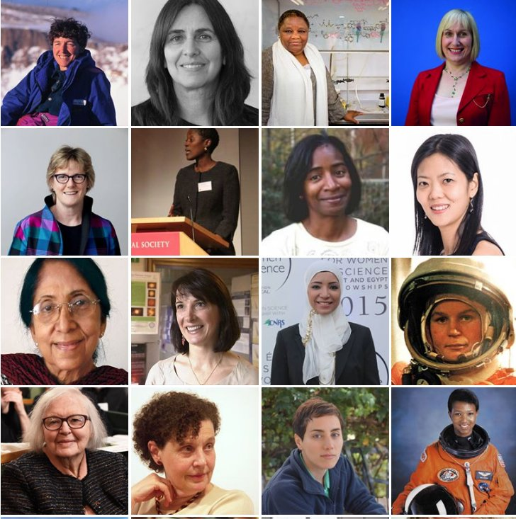 For #WomenInScience day, we're shining a light on some of the organisations working to break down the barriers facing  #WomeninSTEM