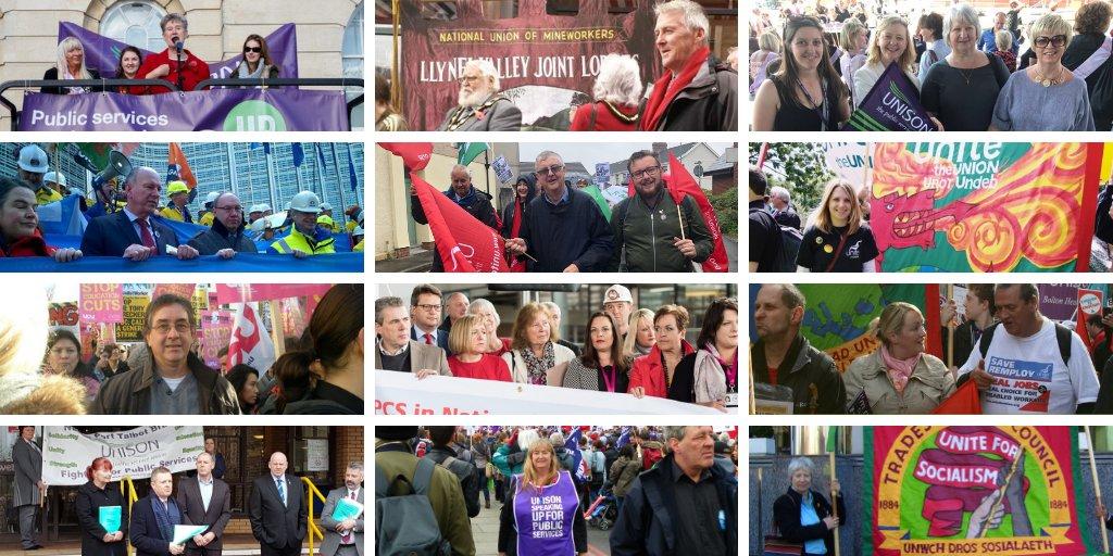Labour Senedd's photo on #HeartUnions