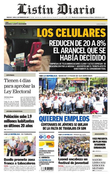 Listín Diario's photo on Lunes 11