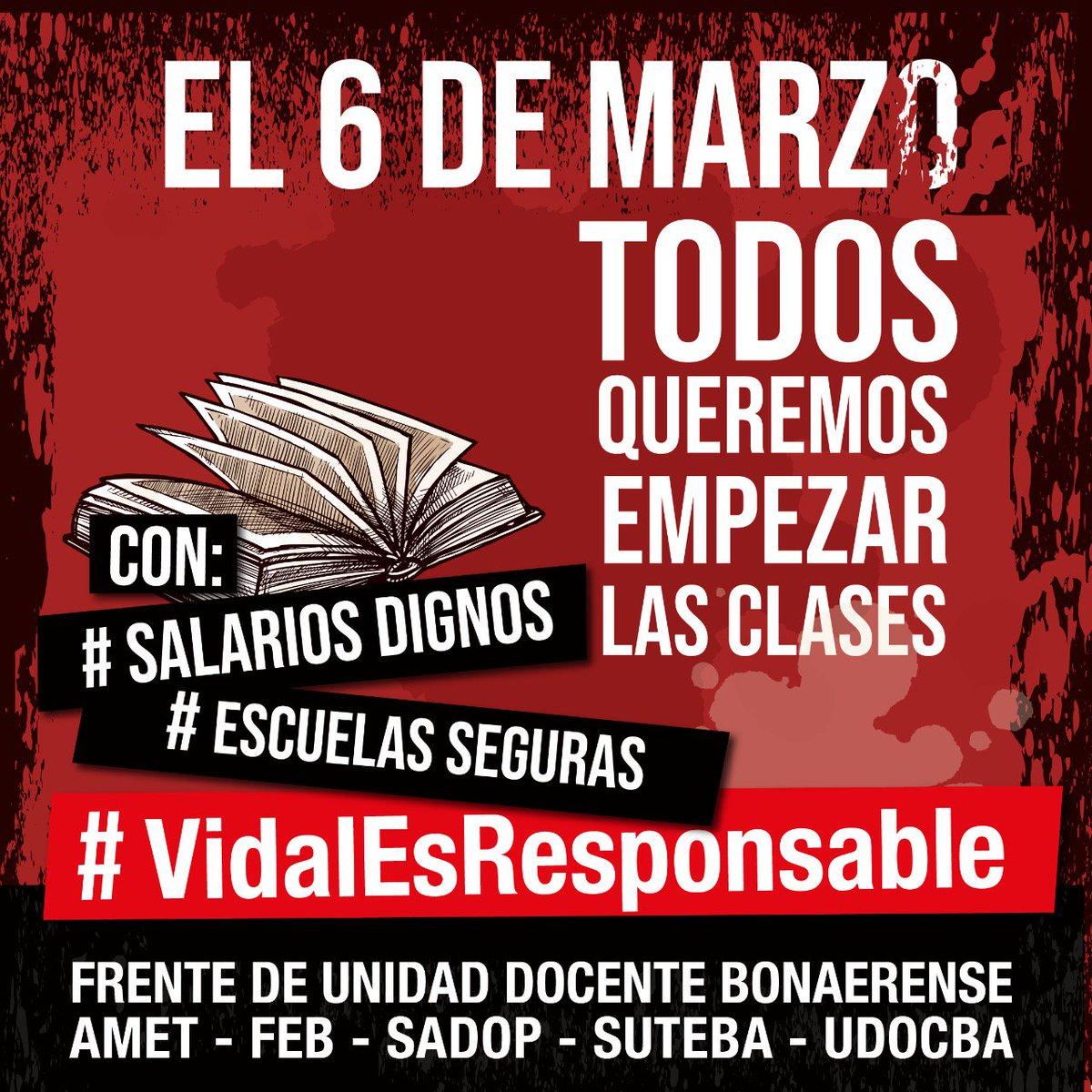 SUTEBA Provincia's photo on #SalariosDignos