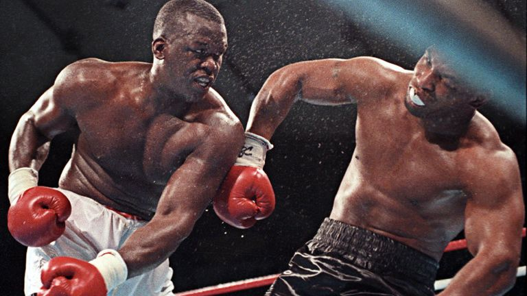 Boxing News's photo on Buster Douglas