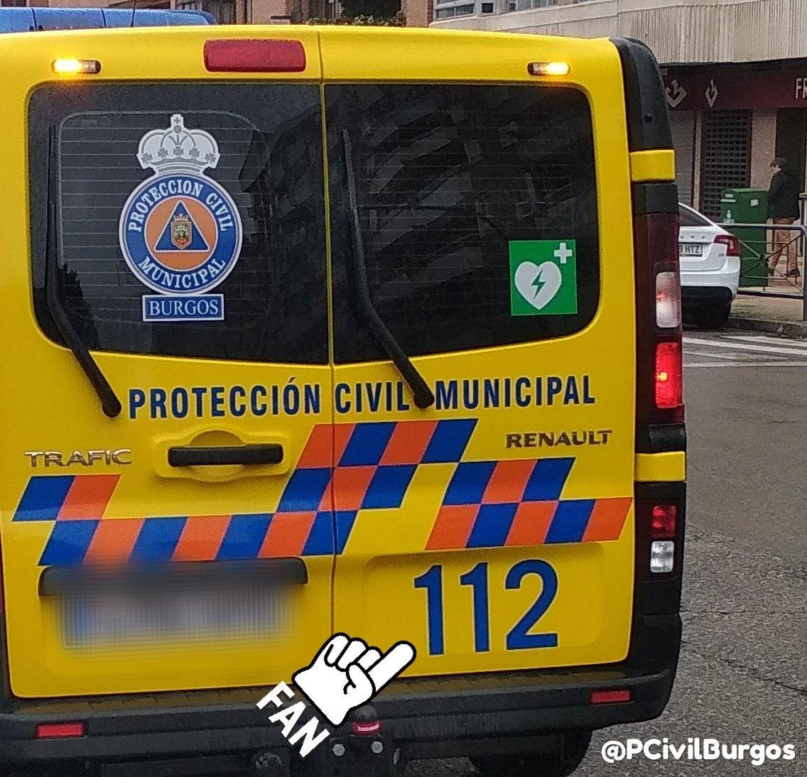 P.Civil Burgos's photo on #DiaEuropeo112