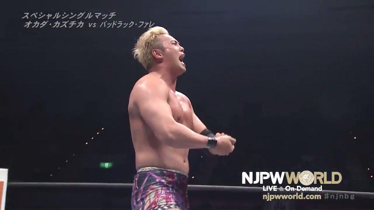 njpwworld's photo on オカダ