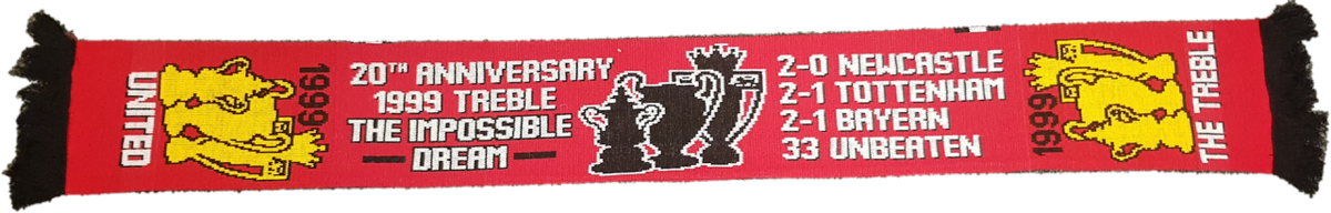 "We have added a new scarf to our online shop this ""The Treble"" scarf is now on sale for only £10!  Follow the link below to see this product on our shop and to see which other products we sell online...  LINK: https://bit.ly/2RTQNYX"