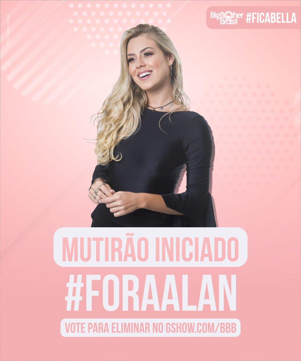 Isabella Cecchi 🌺🐝's photo on #ForaAlan