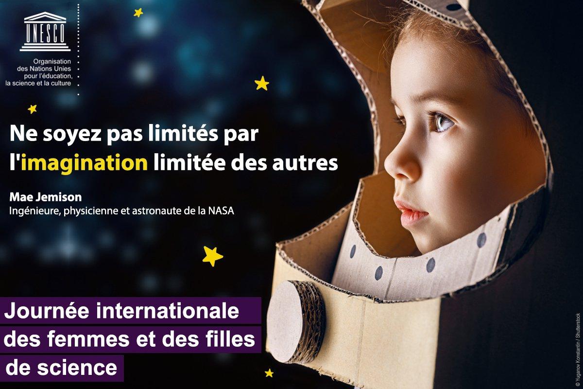 UNESCO en français's photo on #FemmesEnScience