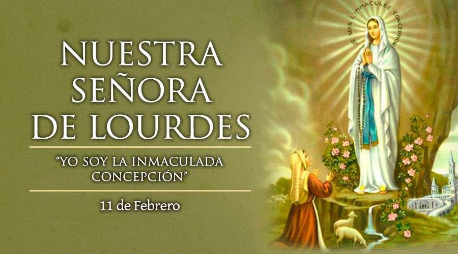 P. El Buen Pastor's photo on Nuestra Señora de Lourdes