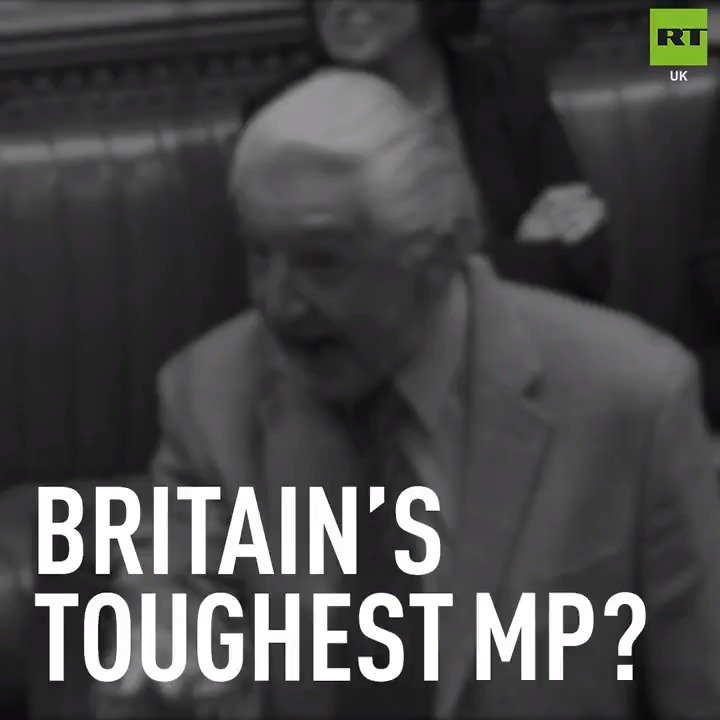 RT UK's photo on Dennis Skinner