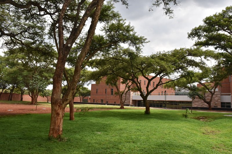Did you know that our new embassy campus maintains the original topography & plantings, enhancing the setting with natural landscape? Indigenous trees & grasses reduce irrigation demand. The design draws inspiration from Zimbabwe's culture, climate & geography. #USZim