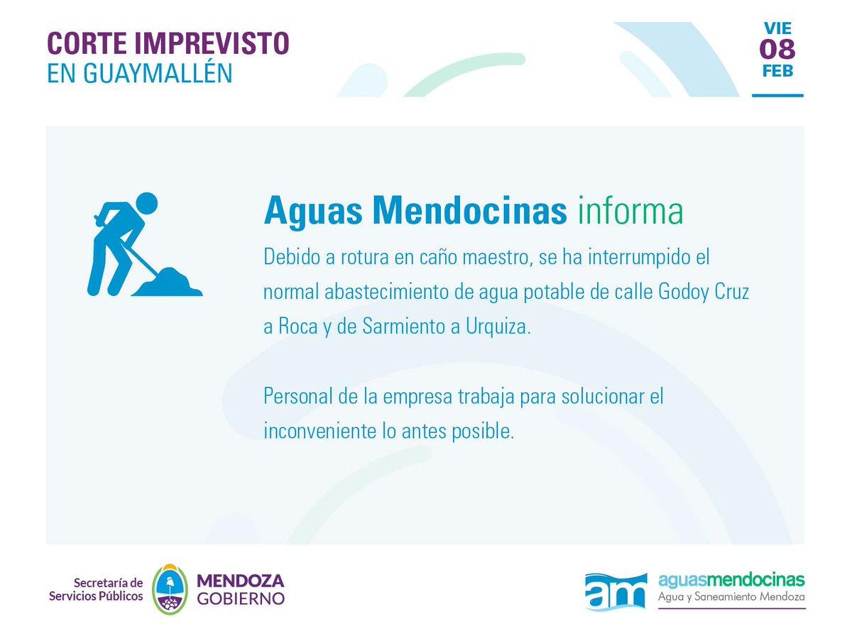 Aguas Mendocinas's photo on Hoy 11