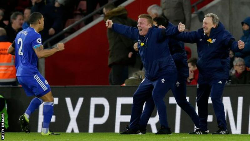 #CardiffCity win at relegation rivals Southampton was a 'massive' result for the Bluebirds according to Lee Peltier  More:  https://t.co/WxCZgpMDVV