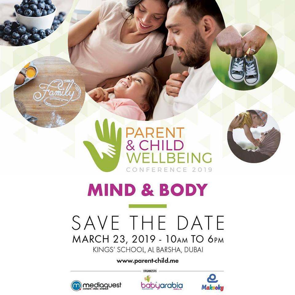SAVE THE DATE | March 23, 2019 Kings' school, Al Barsha, Dubai. How to tackle Nutrition, Emotions, Mind and Body Balance and everything you need to know to raise healthy happy Children. See you there! Register now for free: https://t.co/l9oAZedIKA #pcwc19 https://t.co/owWEGPxewF