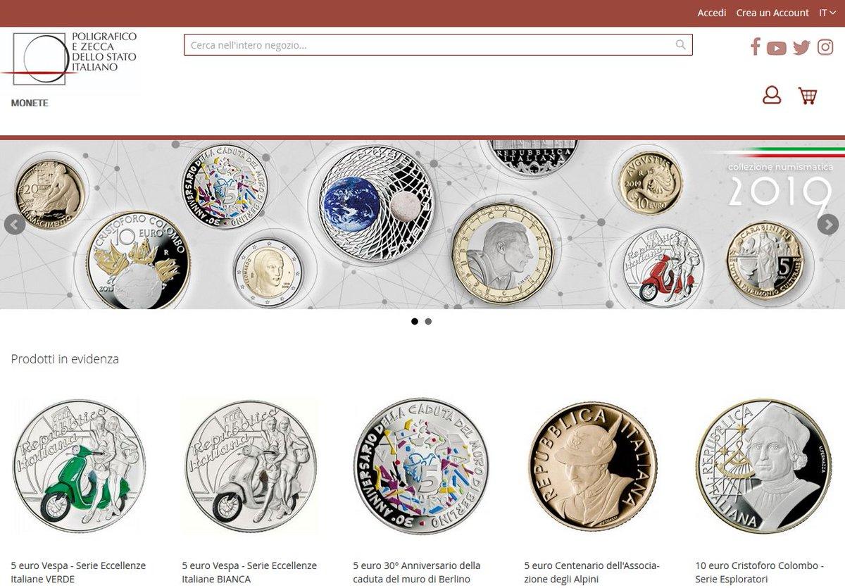 eacbd9c028 Twitt Compra Nella Collezione Numismatica - Querciacb