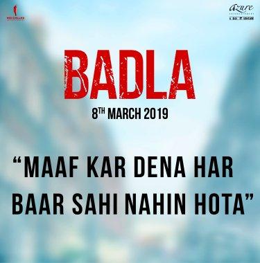 First look of Badla starring Amitabh Bachchan & Taapsee